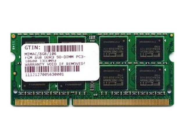 DDR3 8GB 1333MHZ SO-DIMM X APPLE BULK PER IMAC\MACBOOK OLD