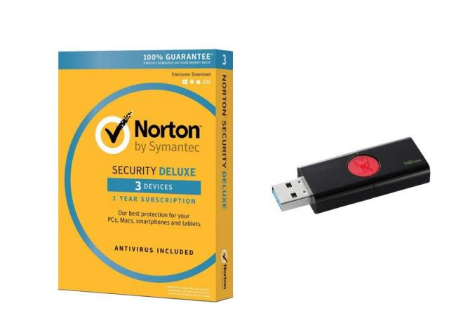 INT.SEC. 1U 1Y 3DEV + PENDRIVE 16GB