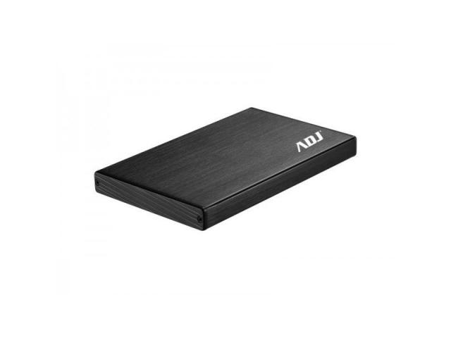 BOX 2.5 SATA TO USB 3.0 MAX 2TB BK STEELBOX ALLUMINIO/PLASTICA ADJ