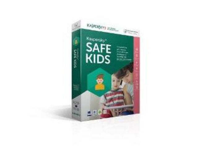 SAFE KIDS 1U 1Y KASPERSKY ITALIANO