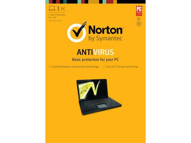 ANTIVIRUS 1U 1Y NORTON BASIC