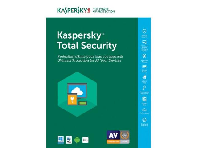 TOTAL SECURITY 2USER 1Y 20TH KASPERSKY SPECIAL EDITION