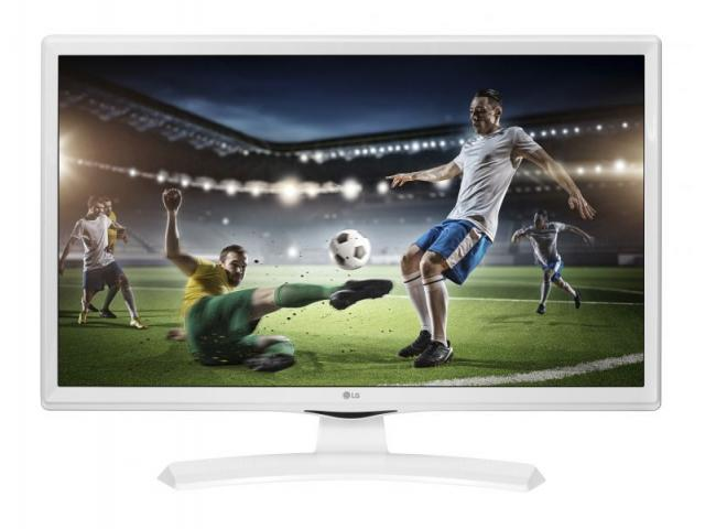 TV MONITOR 28 LG HD BIANCO PIEDE CENTRALE